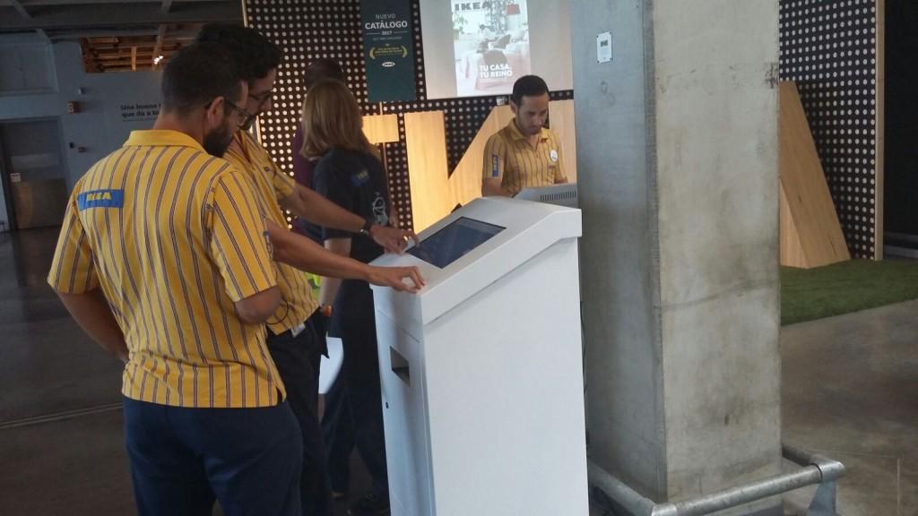 Kioscos interactivos Ikea Neo